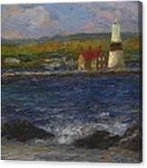Execution Lighthouse Canvas Print