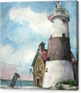 Execution Rocks Lighthouse Canvas Print
