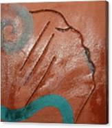 Exhale - Tile Canvas Print