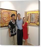 Exhibition Cozumel Museum Mexico  Canvas Print