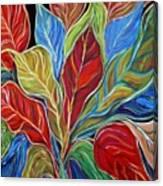 Exotic Foliage Canvas Print