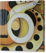 Exotic Rhythm 1 Canvas Print