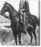 Explorer Juan Bautista De Anza Canvas Print