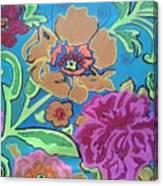 Exploring Blooms Canvas Print