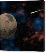 Exploring Planet Mars Canvas Print