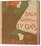 Exposicio De Dibuixos Den Gose Canvas Print