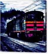 Express Night Canvas Print
