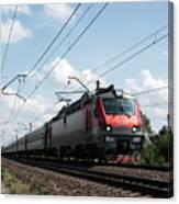 Express Train Canvas Print