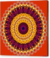 Expression No. 7 Mandala Canvas Print