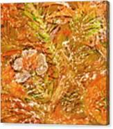 Extravaganza Orange Canvas Print