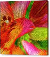 Extruded 692 Canvas Print