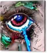 Eye Ball Study One Canvas Print