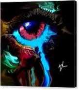 Eye Ball Study Two Canvas Print