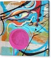 Eye In Blue Canvas Print