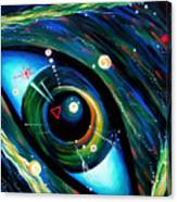 Eye Of Immortal Eternity. Timeless Space 2 Canvas Print