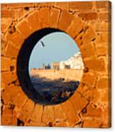 Eye Of The Beef  Essaouira  Mogador Canvas Print
