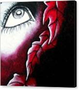 Eye See Red Canvas Print