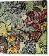 Eye Spy Sunflower Canvas Print