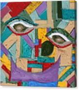 Eye To Eye To Eye Canvas Print