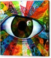 Eye To The Soul Canvas Print