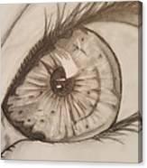 Eyeball 1 Canvas Print