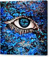 Eyelash  Canvas Print