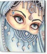 Eyes Like Water Canvas Print