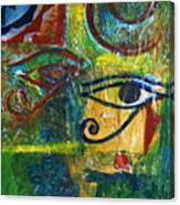 Eyes Of Horace Canvas Print