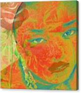 Eyes Of Nigeria Canvas Print
