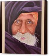 Eyes Of Rajasthan Canvas Print