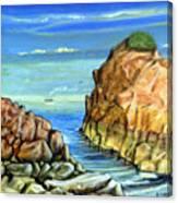 Eynmouth South East Scotland Canvas Print