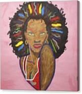 Erzulie Dantor Canvas Print