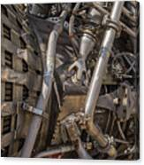 F-1 Rocket Engine Canvas Print