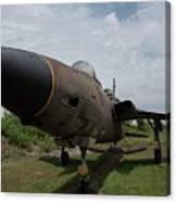 F - 105 Thunderchief Canvas Print