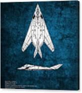 F-117 Nighthawk  Canvas Print