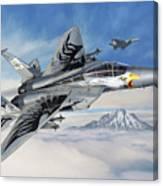 F-15C Eagle of Oregon Canvas Print