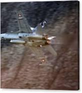 F 18 Hornet Canvas Print