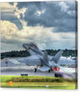 F-18 Hornet Takeoff Canvas Print