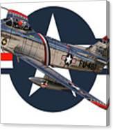 F-86 Sabre Canvas Print