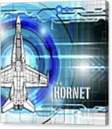 F/a-18 Hornet Canvas Print