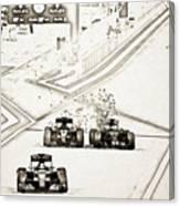 F1 Canvas Print
