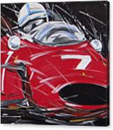 F1 Surtees Ferrari 1964 Canvas Print