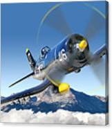F4-u Corsair Canvas Print