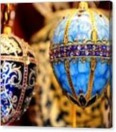 Faberge Holiday Eggs Canvas Print
