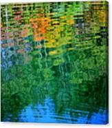 Fabian Pond Reflections3 Canvas Print