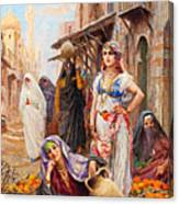 Fabio Fabbi Orange Seller Canvas Print