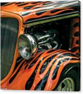 Fabulous Flames  Canvas Print