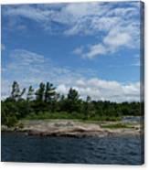 Fabulous Northern Summer - Georgian Bay Island Landscape Canvas Print
