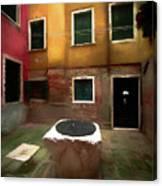 Facade Of Venice V1  Canvas Print