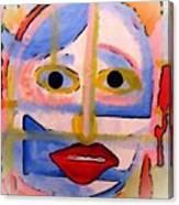 Face 1 Canvas Print